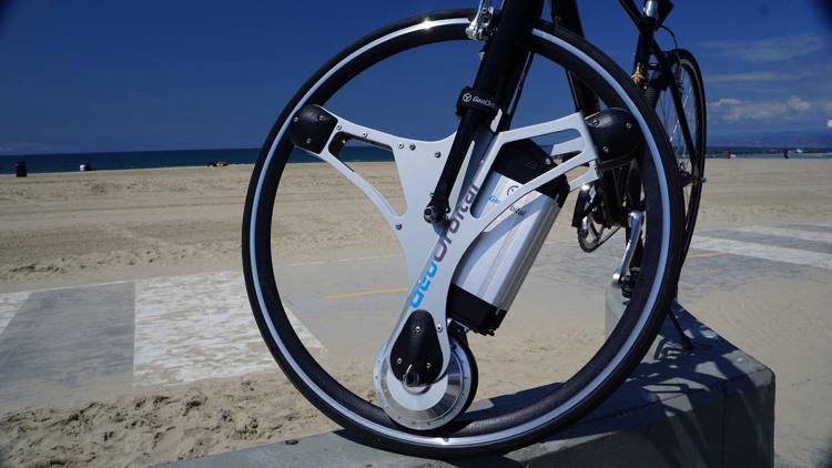Elektro Bike aus dem alten Fahrrad - mit dem GeoOrbital-Rad
