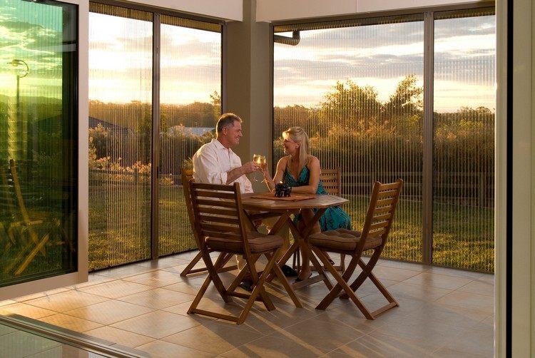 Windschutz Für Terrasse Und Balkon Wählen 20 Ideen Und Tipps