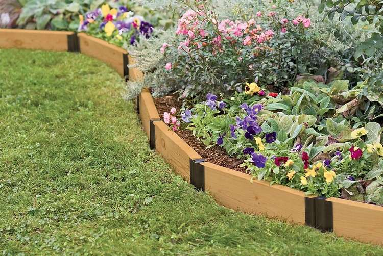 raised garden beds edging - boisholz,