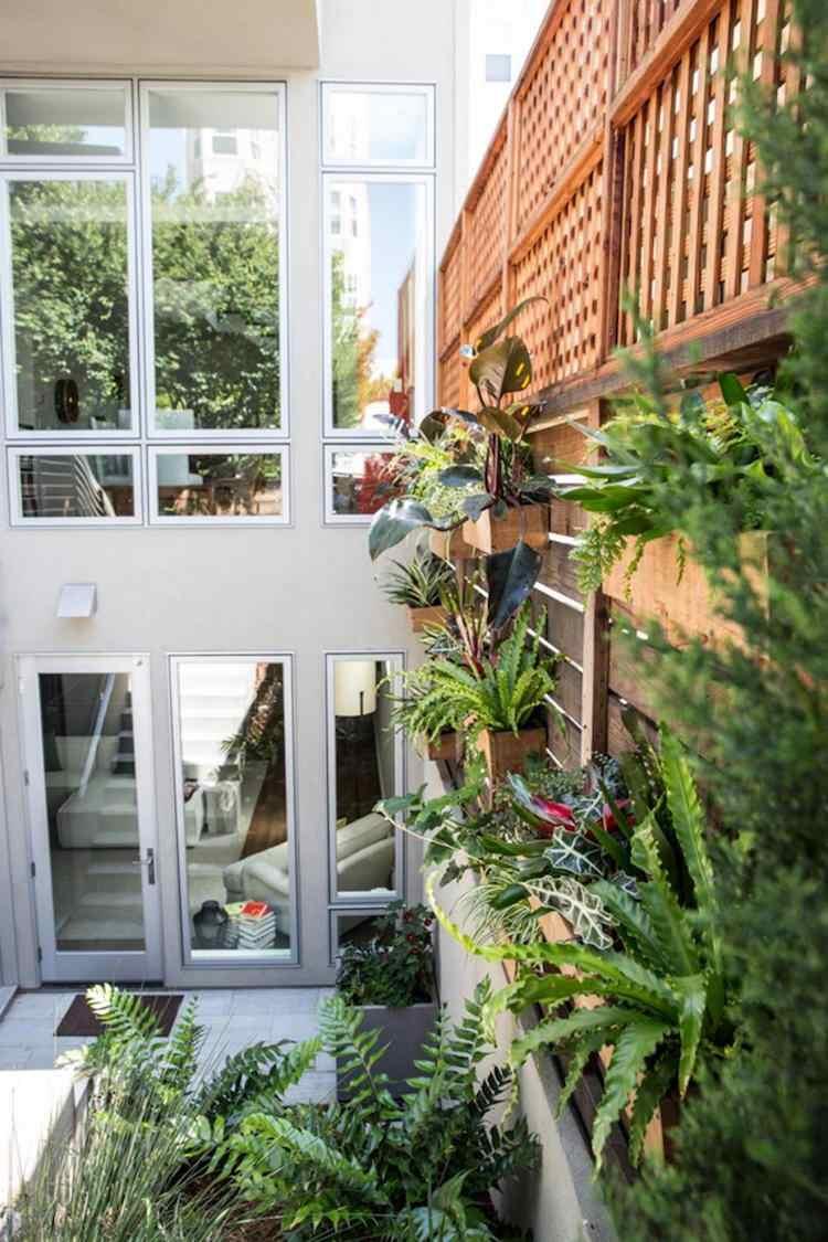 21 Gartenabtrennung Ideen fr das Stadthaus