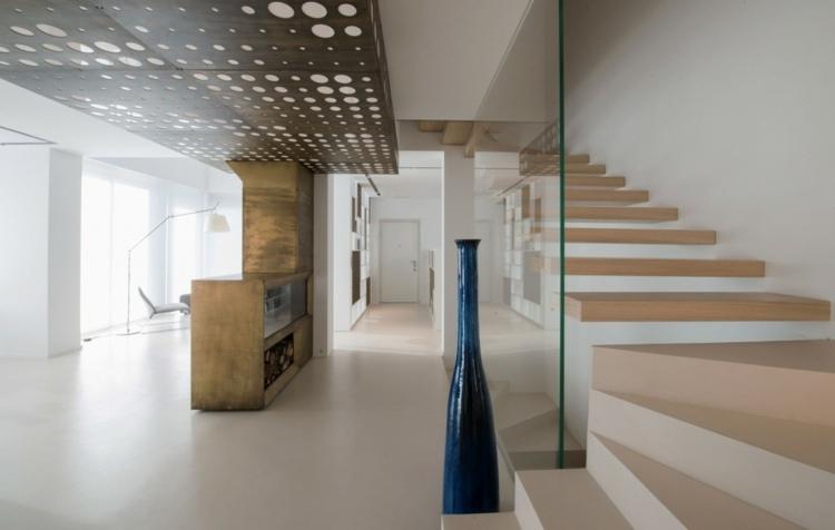 Holz Regal als Raumteiler  Eine funktionale  dekorative Idee