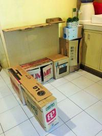 Kinderkche selber bauen aus Karton - Eine einfache ...
