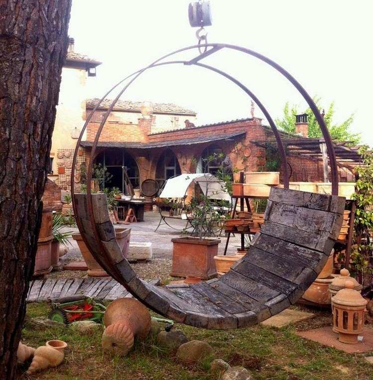 Gartendeko Aus Holz Weinfass 15 Kreative Ideen Furs Alte