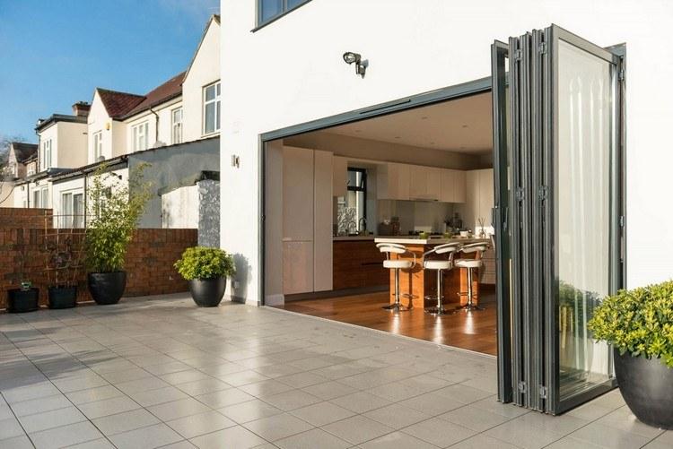 Glasfalttüren Für Terrasse Und Wintergarten 20 Inspirationen