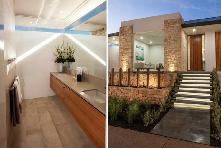 Haus einrichten mit modernen Mbeln und in hellen Farben