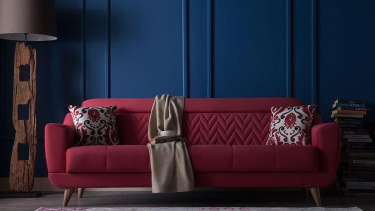 Wohnzimmer Wandgestaltung Farbe Wohnzimmer Passende Farbe Helle ... Wohnzimmer Ideen Rote Couch