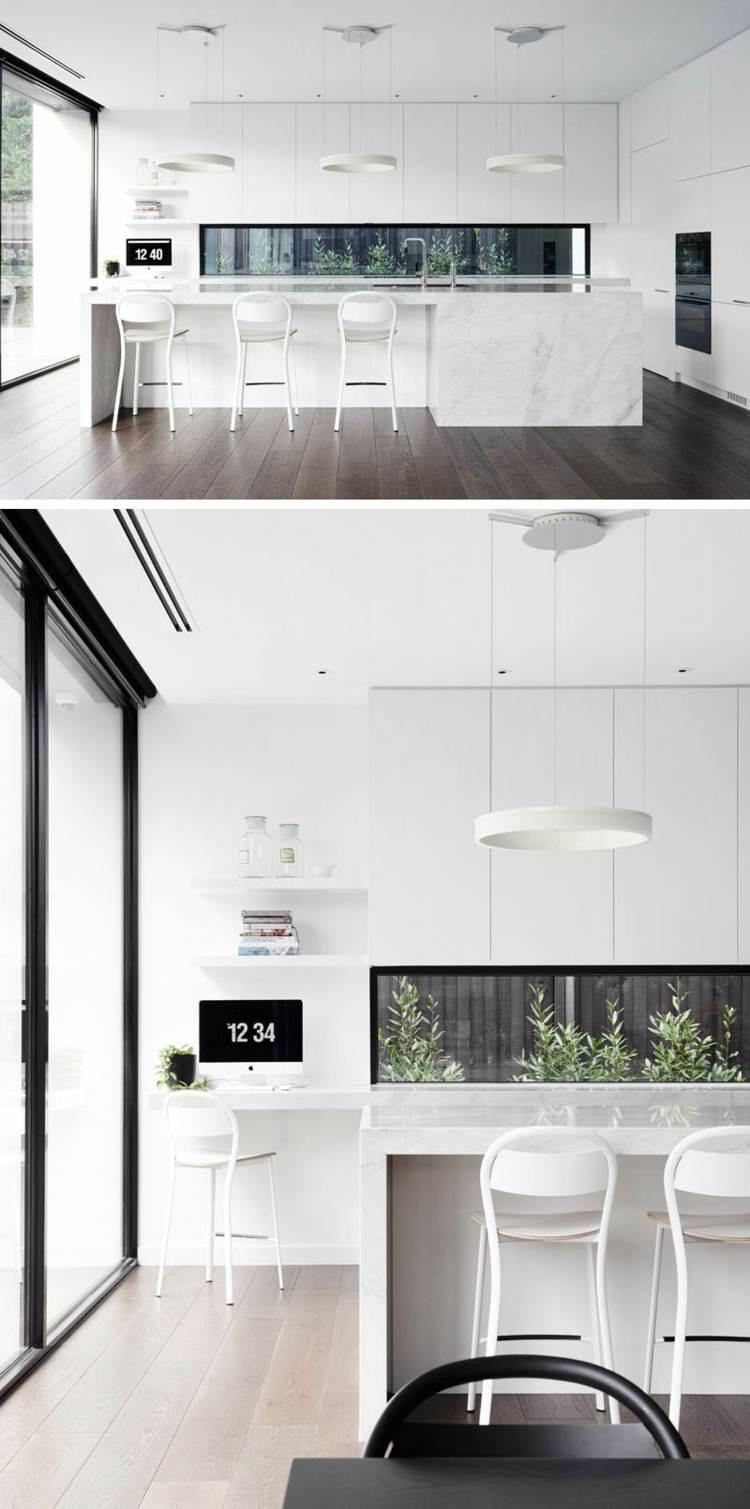 Schmale Fenster fr die Kche Viel Licht  perfekte