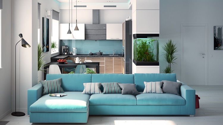 Wohnzimmer Grau Turkis ~ Die Feinste Sammlung Von Home Design