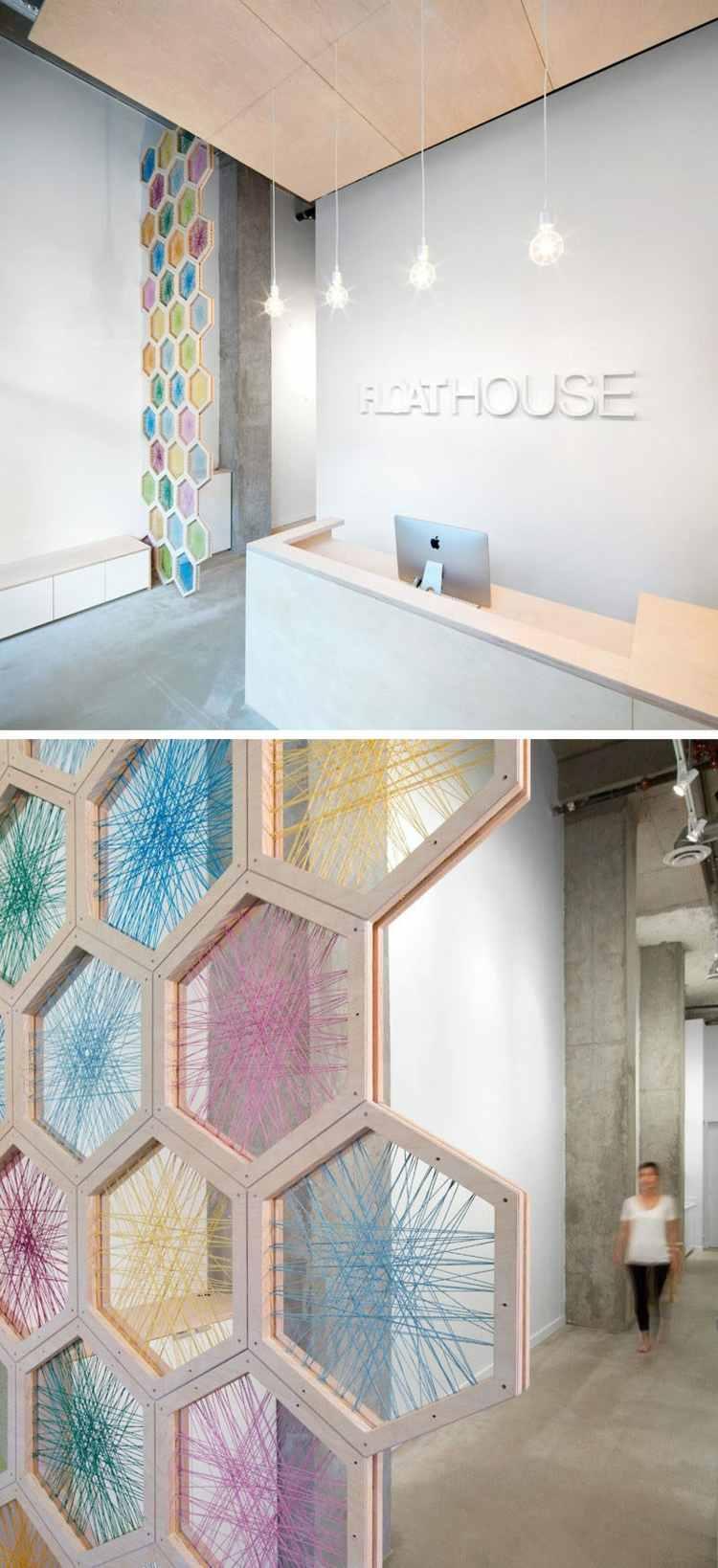 Deko Ideen mit Hexagon Motiven frs Interieur  20