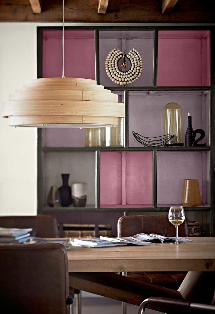 Farbe Mauve zur Raumgestaltung fr romantisches Flair