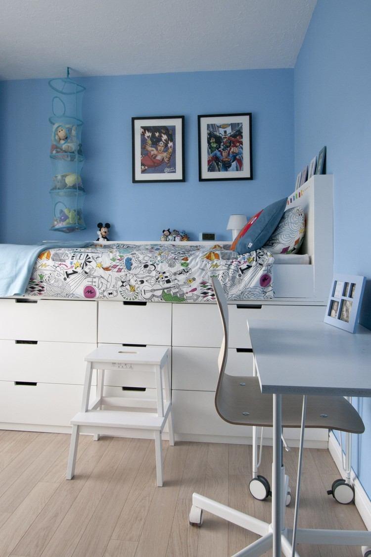 Hochbett Selber Bauen Mit Ikea Möbeln - Betten Mit Stauraum