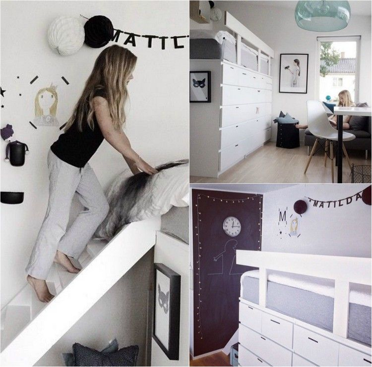 kinderhochbett selber bauen ikea. Black Bedroom Furniture Sets. Home Design Ideas
