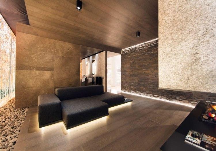 Indirekte Beleuchtung in der Raumgestaltung modern inszeniert