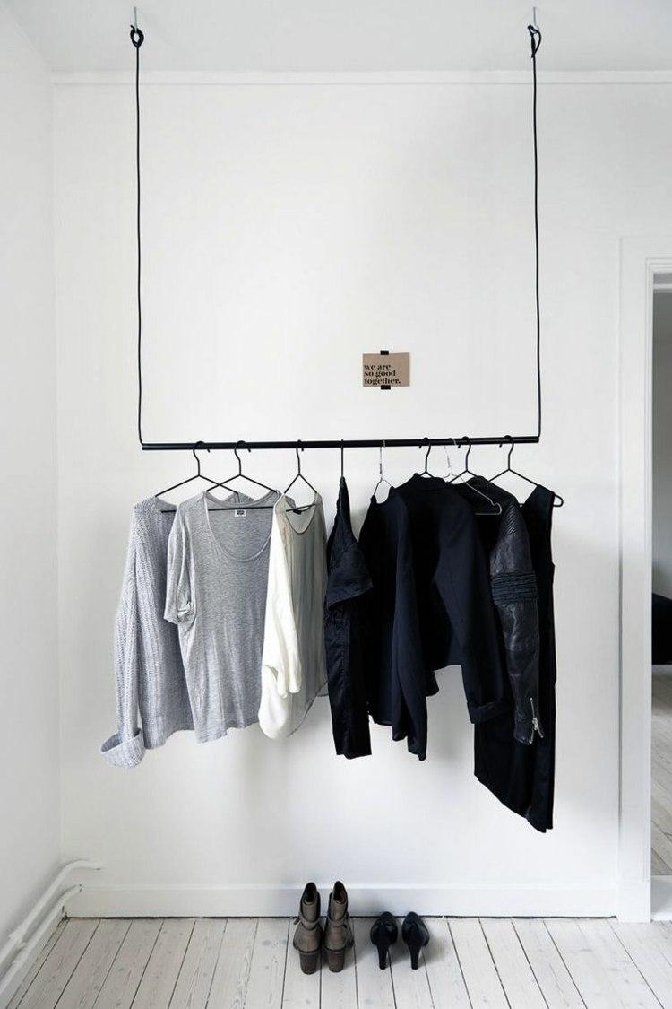 Idee Kleiderablage Schlafzimmer