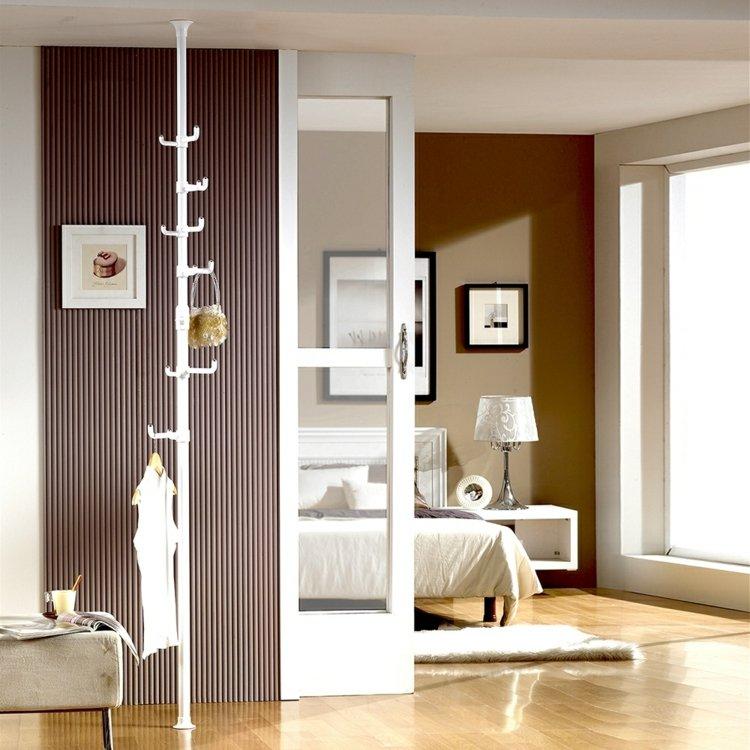 Kleiderablage Schlafzimmer Schuhregal Weiss Metall