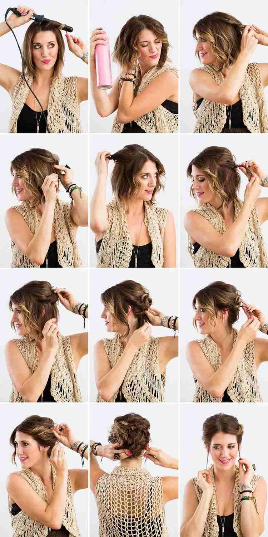 Frisuren Mit Kurzen Haaren Machen