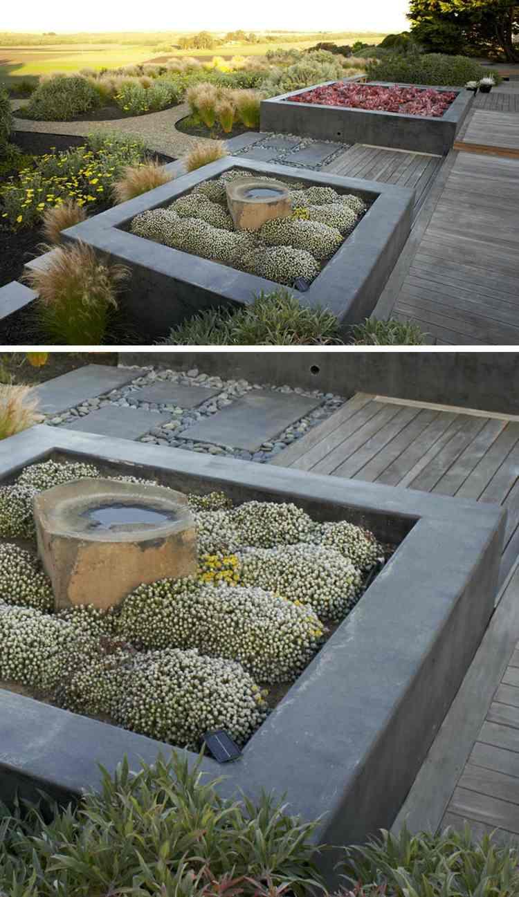 Pflanzkübel Aus Beton Für Hochbeete & Moderne Gartengestaltungen
