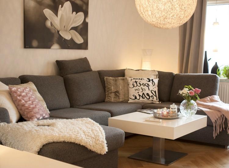 weis rosa wohnzimmer ~ inspirierende bilder von wohnzimmer dekorieren