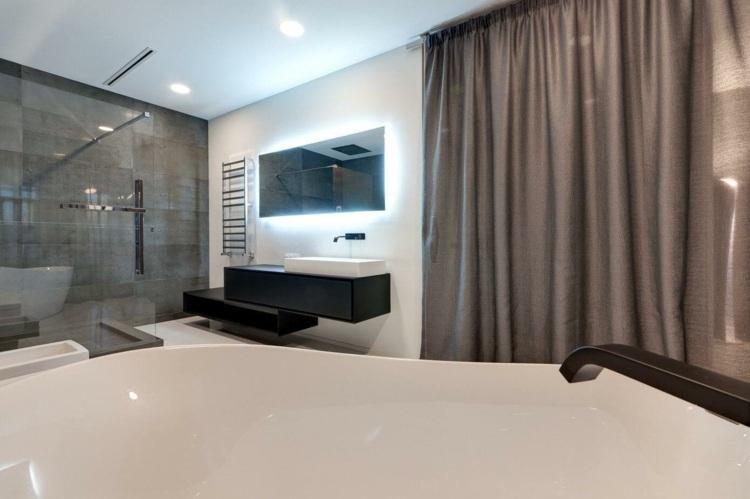 Wohnung einrichten in Grau  Modernes Apartment als Inspiration