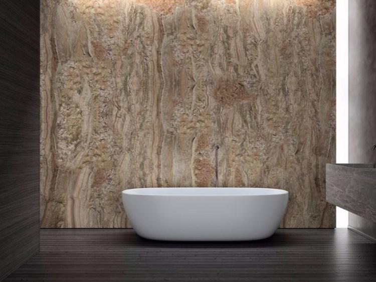 Wasserfeste Tapete Fur Badezimmer Haus Ideen
