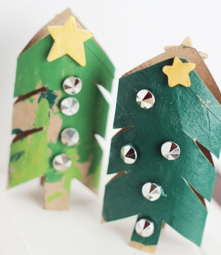 Bastelideen Tannenbaum.Bastelideen Weihnachten Tannenbaum