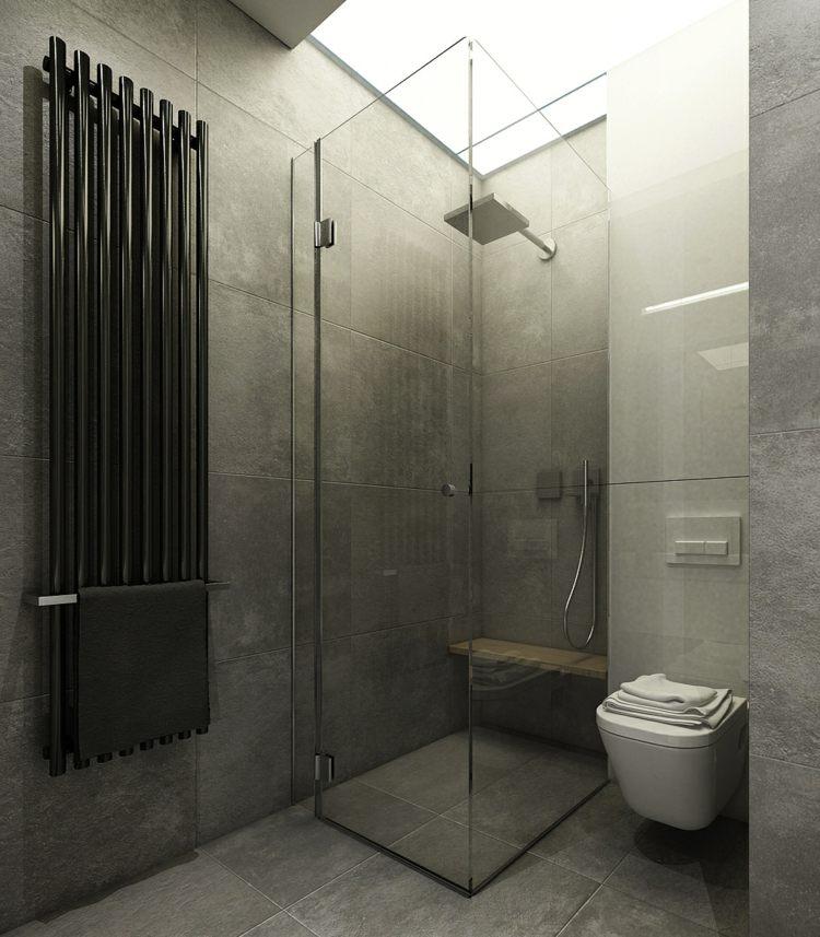 Bodengleiche Dusche im Badezimmer - Offene Designs & Nasszellen