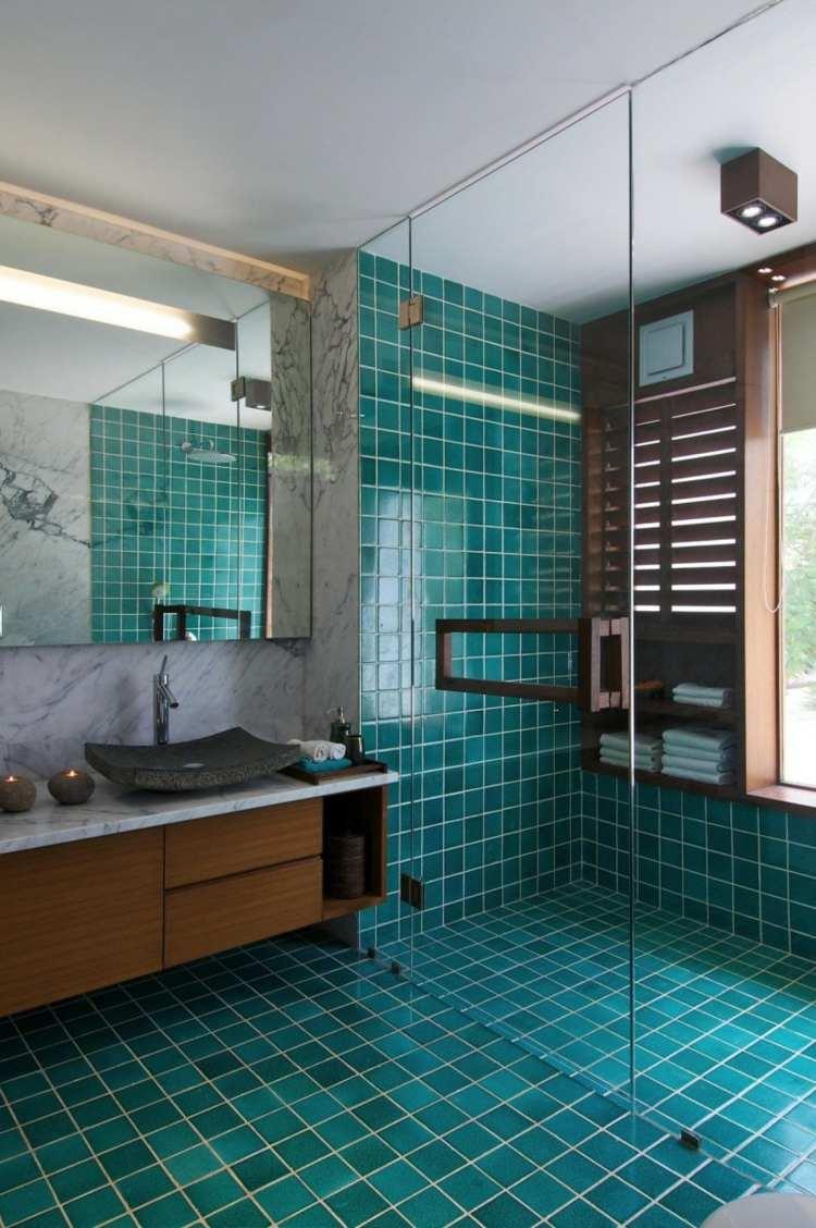 Gallery of Bodengleiche Dusche Im Badezimmer Offene Designs ...
