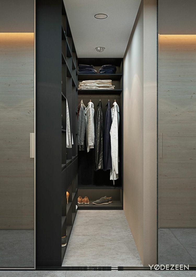 Schön Kleiderschrank Platzsparend Das Beste Von Einraumwohnung Einrichten - Zimmer Gestalten Mit Praktischen