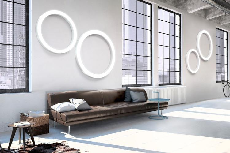 LED Ring Design Leuchten  Rings Kollektion von Panzeri