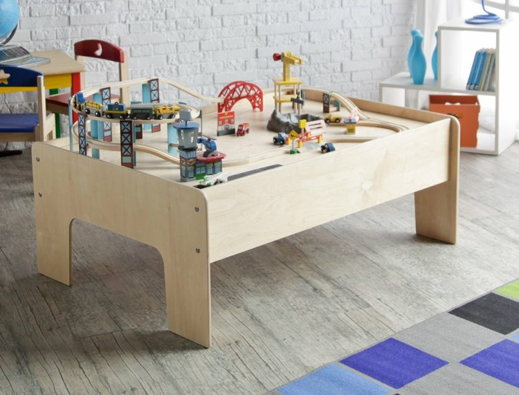 spieltisch selber bauen ideen kinderzimmer. Black Bedroom Furniture Sets. Home Design Ideas
