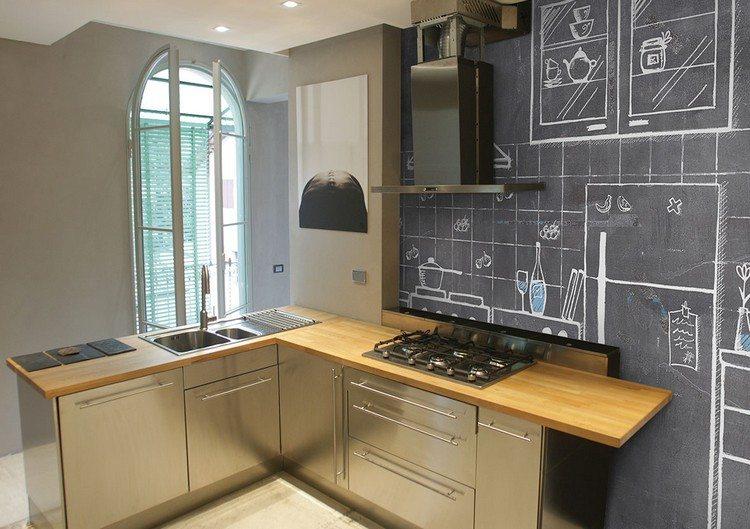 Deko Ideen: Tapete für Küche auswählen – 20 Ideen für stilvolle Wandgestaltung in der Küche