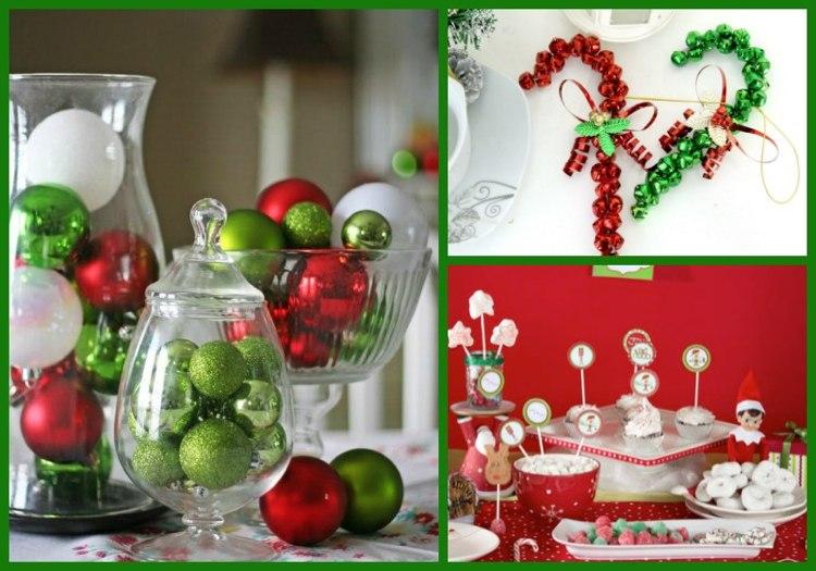 Tischdeko Weihnachten Rot tischdeko zu weihnachten 100