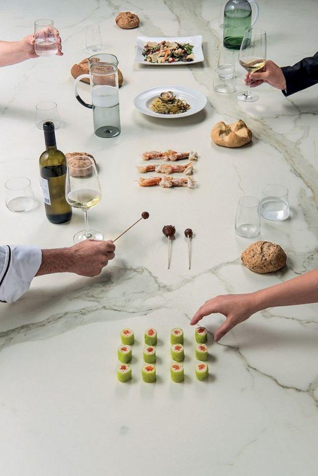 Hochwertige Keramik Arbeitsplatten für Küche mit modernem ...