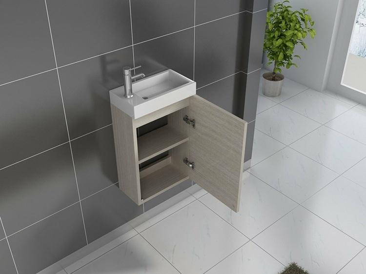 Ein kleines Bad platzsparend einrichten mit diesen