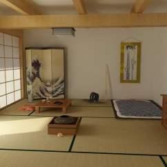 Loft Bed With Chair Futon Pride Z Japanische Häuser - Die Besonderheiten Der Japanischen Architektur