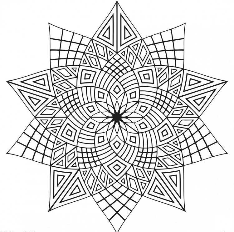 Malvorlagen Geometrische Formen Kostenlos Coloring and