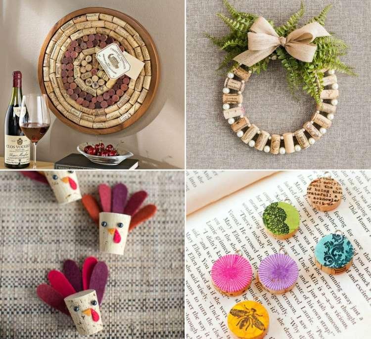Basteln Mit Korken 30 Kreative Recycling Ideen Für Den