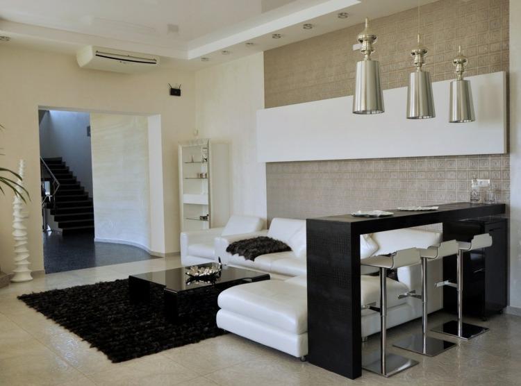 Wohnzimmer Bar  attraktive und stilvolle Ideen fr eine tolle Atmosphre