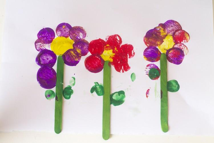 Frühling Basteln Mit Kindern Unter 3 Osterbasteln 3