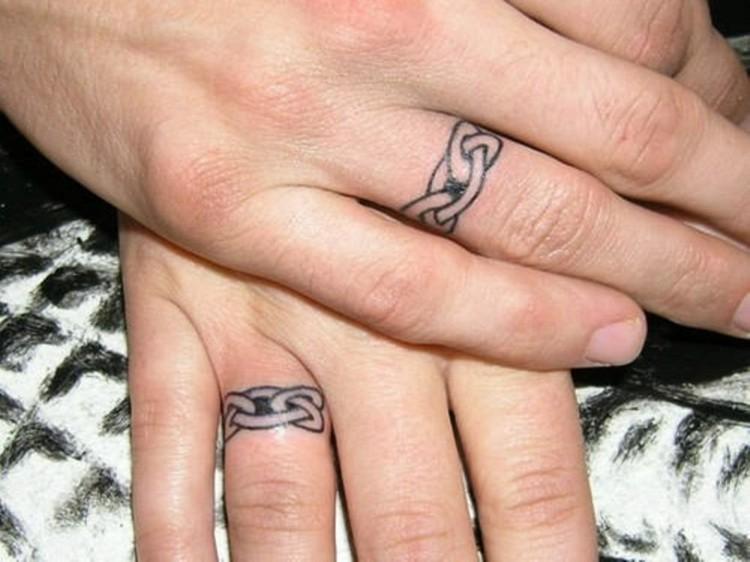 Finger Tattoo Ideen fr Mann und Frau  beliebte Motive