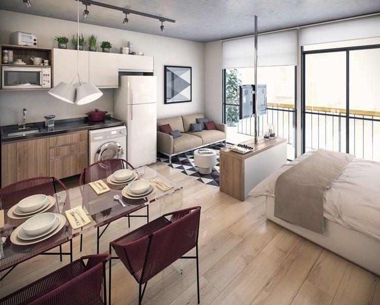 Kleine Wohnung Einrichten 30 Ideen F 252 R Optimale Raumnutzung