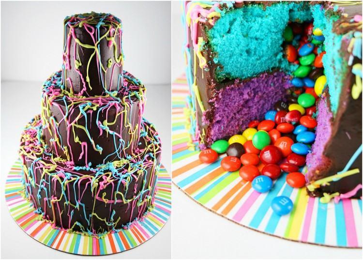 Kuchen mit berraschung drin selber machen  20