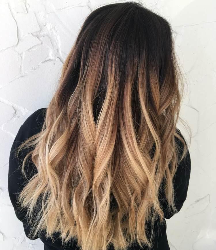 ▷ Ombre Haare Färben Ideen Für Ombre Blond Brünett Und Bunte Farben