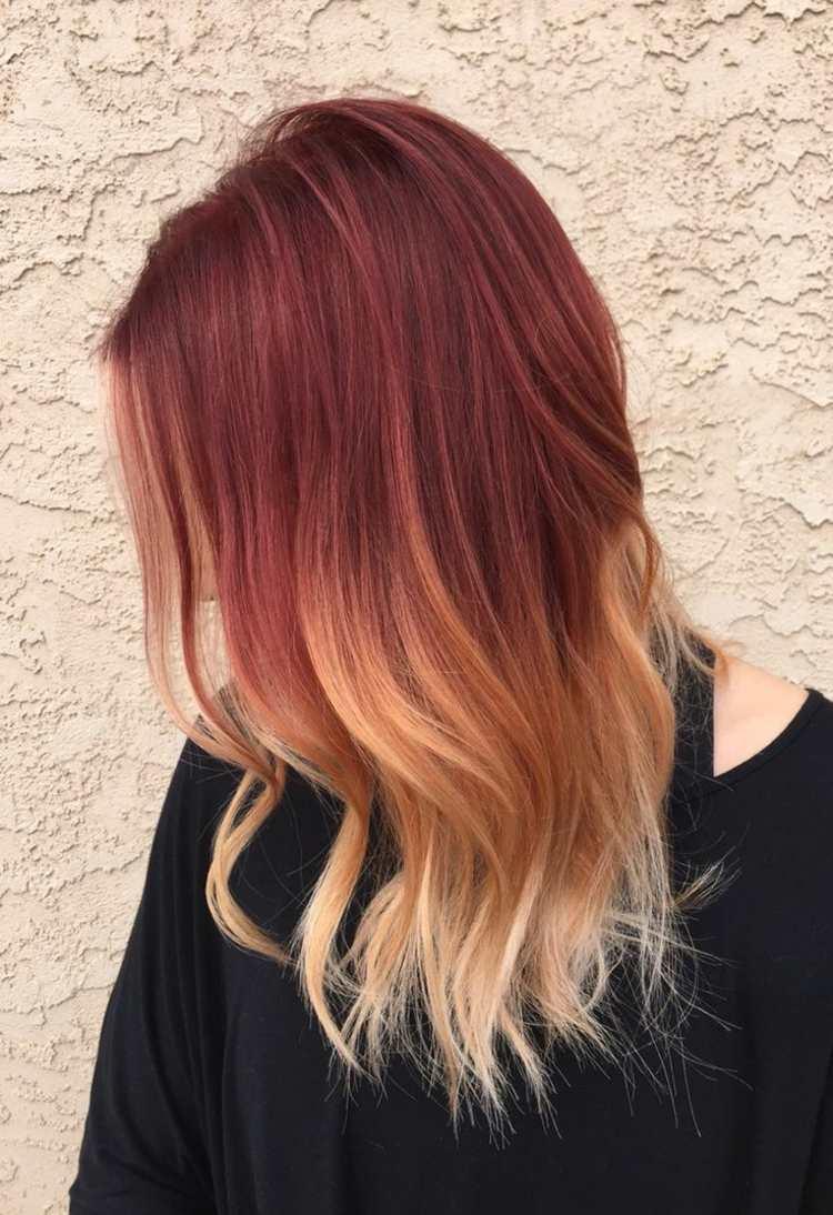 Haare Farben Rot Auf Braun