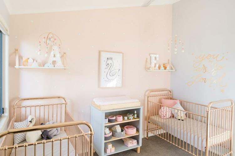 Babyzimmer Fr Zwillinge Einrichten Und Gestalten 30