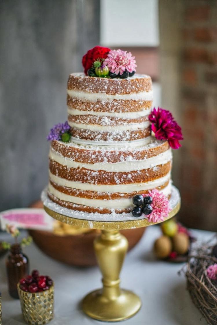 Kuchen Dekorieren Ohne Fondant Hochzeitstorte Ohne Fondant 32