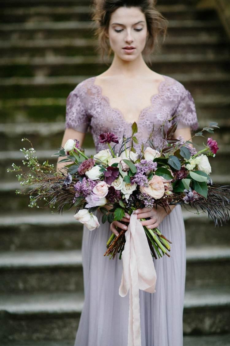 Vintage Brautstrau Ideen fr zarten romantischen und