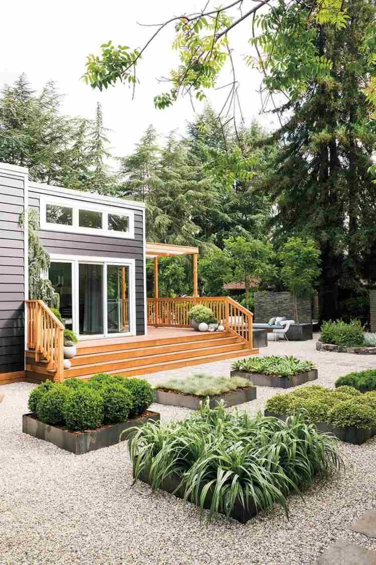 Gartengestaltung Kleiner Garten Mit Hang Gartengestaltung