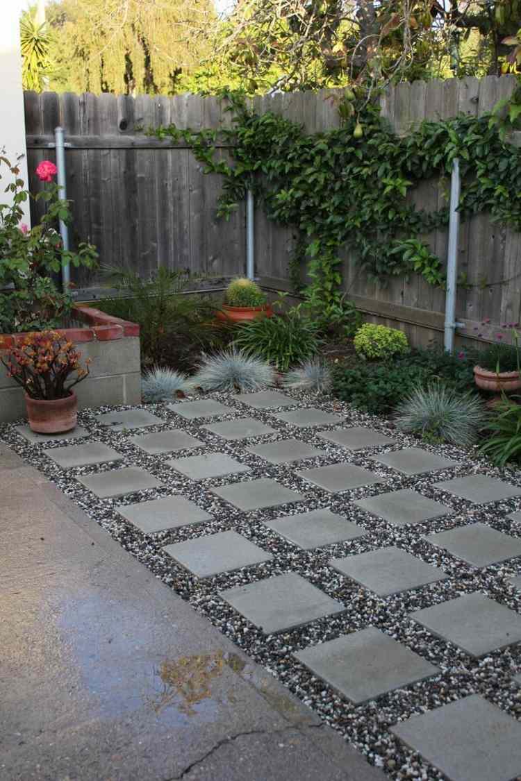 Kleiner Garten Grose Terrasse  Verschiedene Ideen zur