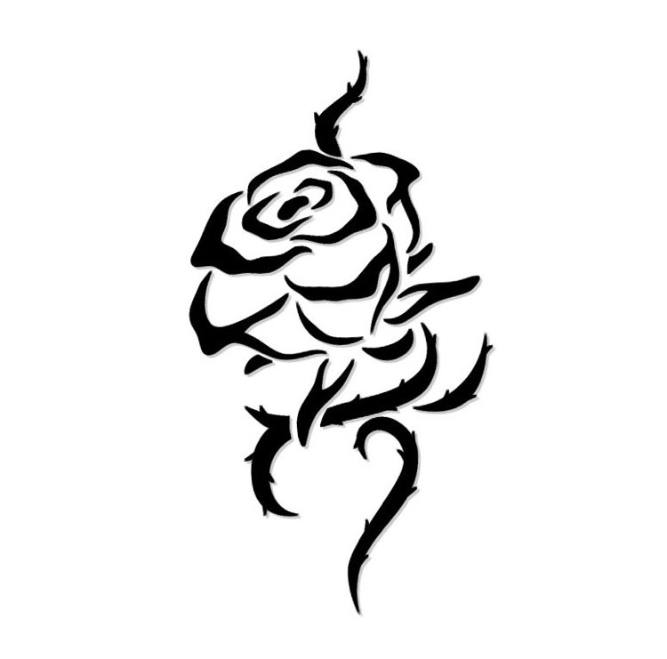 Rosen Tattoo Rosenranke Bedeutung Ideen und Vorlagen